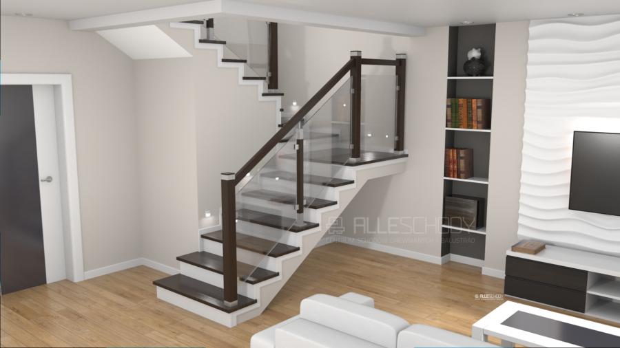 Masywnie Schody i balustrady drewniane - Systemy i elementy schodów i NA28