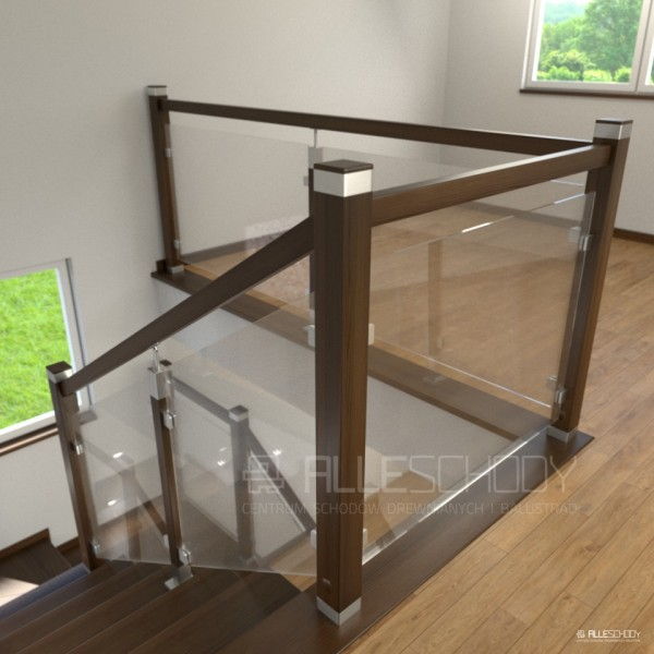Najnowsze Schody i balustrady drewniane - Systemy i elementy schodów i EO23
